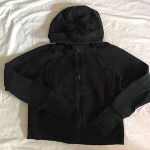 Lululemon hip length hooded zip up sweatshirt